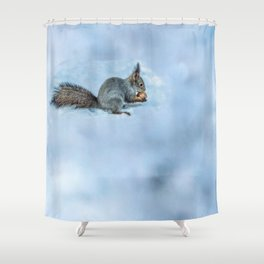 Tasty nut Shower Curtain