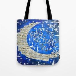 Amant d'étoile - Star Lover  Tote Bag