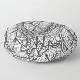 Black & White Jungle #society6 #decor #buyart Floor Pillow