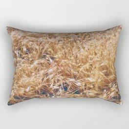 Golden Rays of Sun Rectangular Pillow