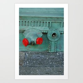 Standpipe in Chicago Art Print