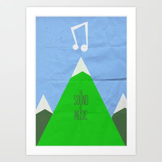 The Sound of Music Art Print