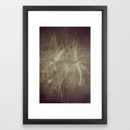 Old wishes Framed Art Print