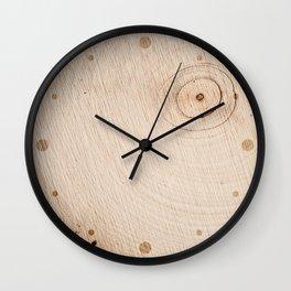 Real Wood Texture / Print Wall Clock