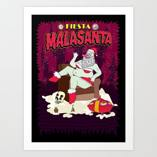 MALASANTA Art Print