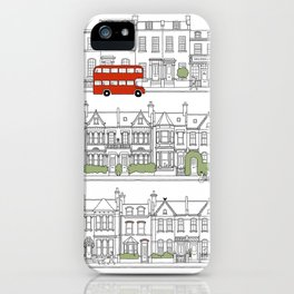 London houses iPhone Case