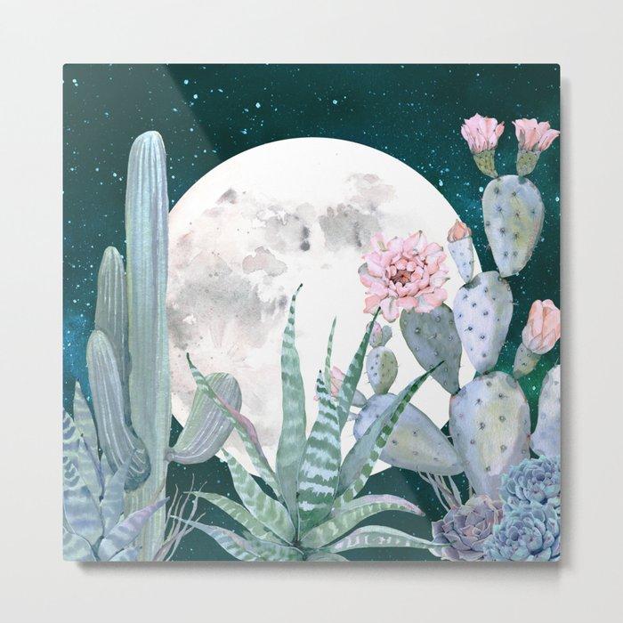 Desert Nights by Nature Magick Metal Print