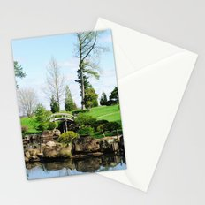 Bridge over untroubled waters Stationery Cards