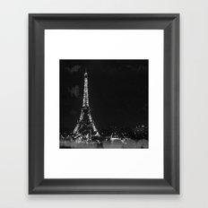 La Nuit (Paris Night) Framed Art Print