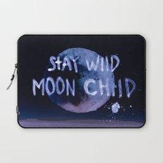 Stay wild moon child (purple) Laptop Sleeve