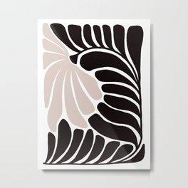 Edna Floral Metal Print