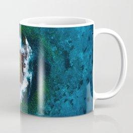 Waves and Rocks of Belowla Island Coffee Mug