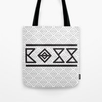 boss Tote Bags featuring BOSS by SoulDeep