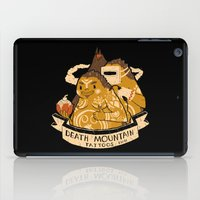 tattoos iPad Cases featuring death mountain tattoos by Louis Roskosch