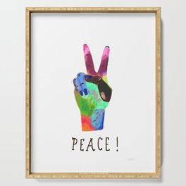 Peace! Serving Tray
