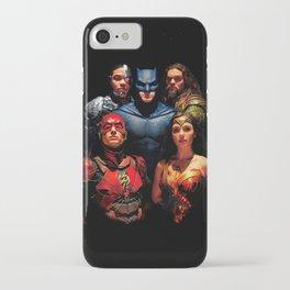 Justice League iPhone Case
