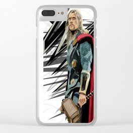 God of Thunder Clear iPhone Case