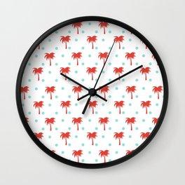 Fiesta Palm Trees Wall Clock
