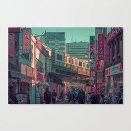 TOKYO TRAIN 03 Canvas Print