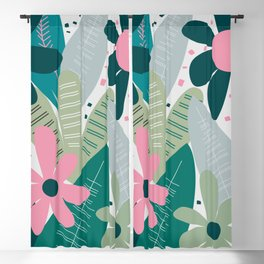 Kind of tropical cuteness Blackout Curtain