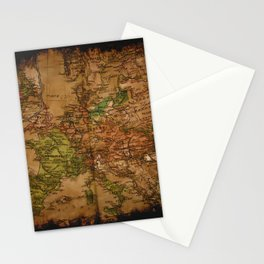 Map of Europe 1740 Stationery Cards