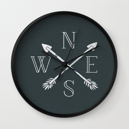Encompass Wall Clock