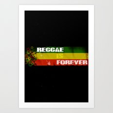 Reggae Is Forever II Art Print