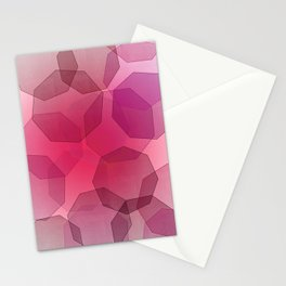 Octa-bokeh. Stationery Cards