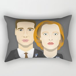 Watching The Detectives #4: Close Up Rectangular Pillow