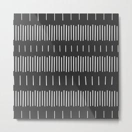 Lines No.1 Metal Print