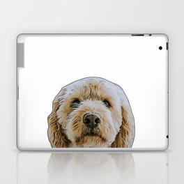 golden doodle Laptop & iPad Skin