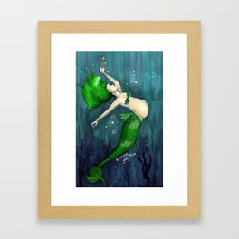 Emerald (May) Framed Art Print
