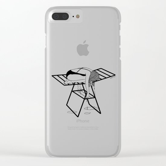 Dry Your Tears Clear iPhone Case