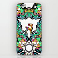 forrest iPhone & iPod Skins featuring Forrest by Stacey Marsh