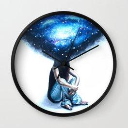 in my head Wall Clock