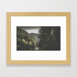 Beautiful ride Framed Art Print