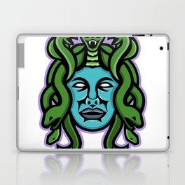 Medusa Greek God Mascot Laptop & iPad Skin