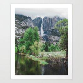 Rainy Day Perfection - Yosemite Art Print