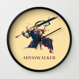 The Abysswalker Wall Clock