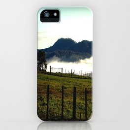 Low lying Fog iPhone Case