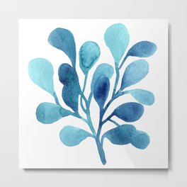 Ocean Illustrations Collection part II Metal Print