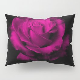 Beautiful Magenta Rose Pillow Sham
