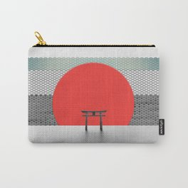 The Red Sun Carry-All Pouch