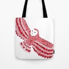 Red Barn Owl Beaut Tote Bag