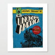 Unknown America Comics #1 Canvas Print