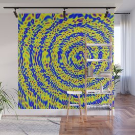 Globular Plasma Wall Mural