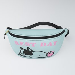 Rest Day Frenchie Fanny Pack