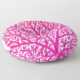 Fan Coral – Pink Ombré Floor Pillow