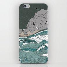 Stormy seas iPhone & iPod Skin