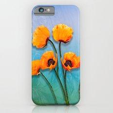 Oriental Poppies  iPhone 6s Slim Case